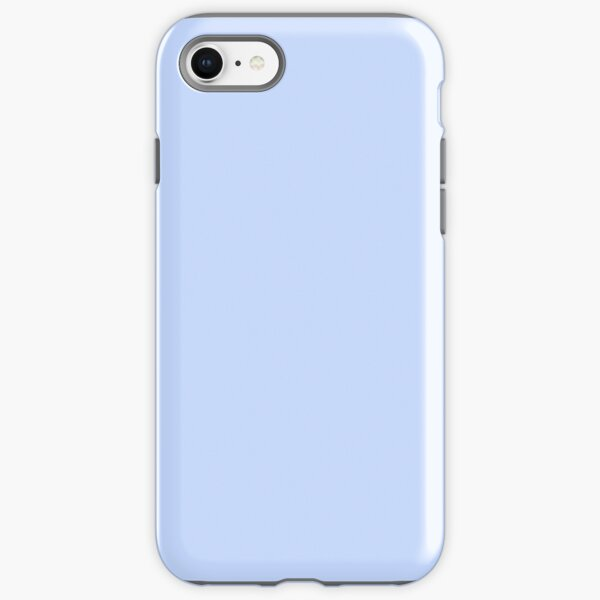 Periwinkle Blue Solid Color iPhone Tough Case