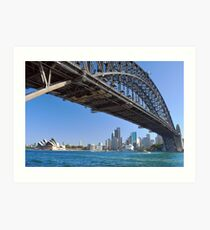 Icons of Sydney Art Print