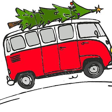 ROAM Christmas Bus  by jpburdett