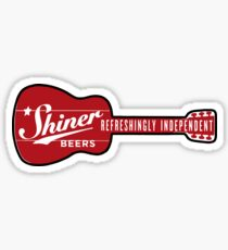 SHINER BEER Sticker