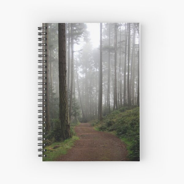 traveling into the mist Spiral Notebook