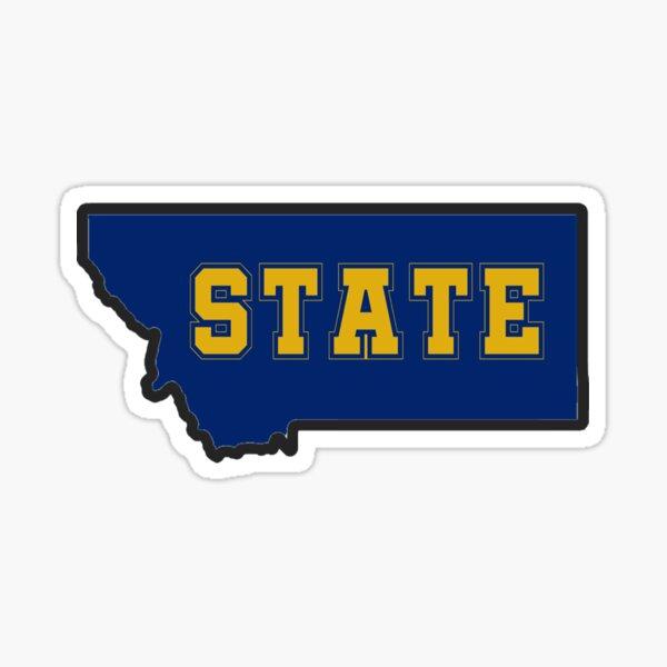 Montana State  Sticker