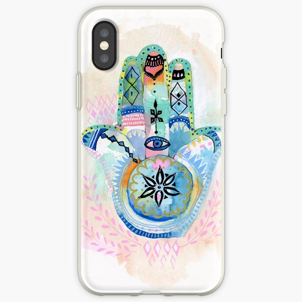 Morocco Hamsa Hand iPhone Cases & Covers