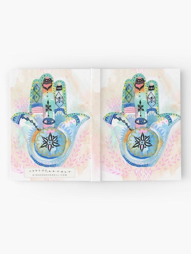 Alternate view of Morocco Hamsa Hand Hardcover Journal