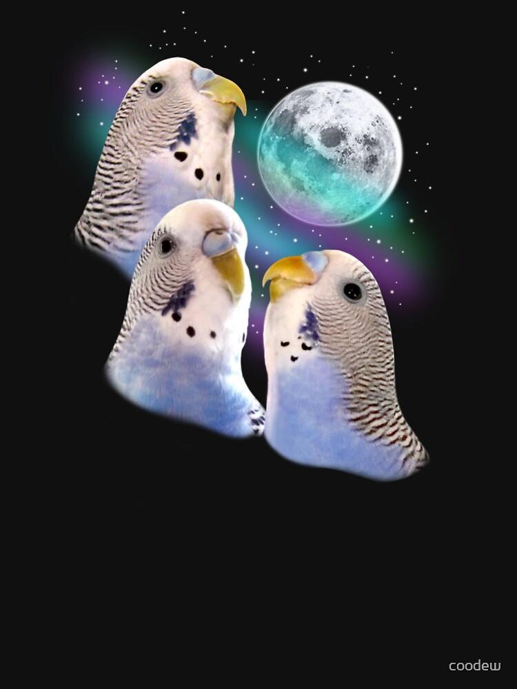 Three Keet Moon by coodew