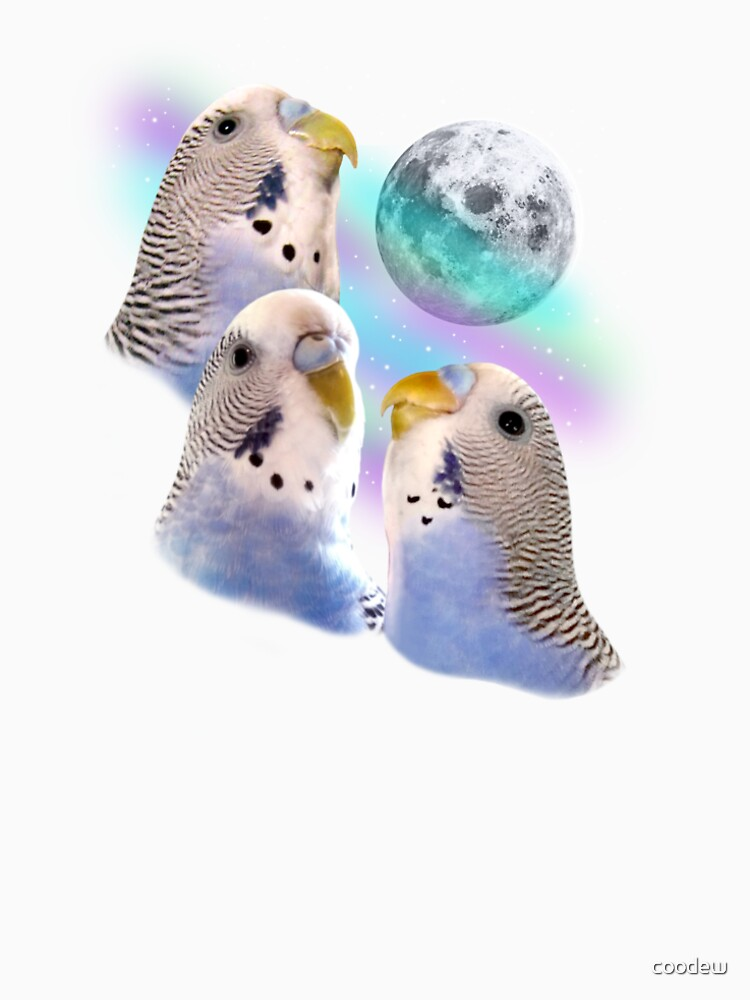 Three Keet Moon by coodew