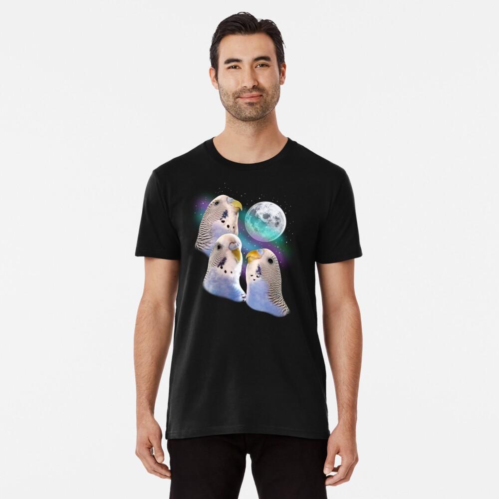 Three Keet Moon Premium T-Shirt