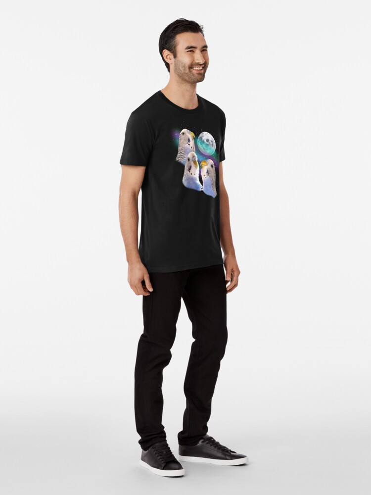 Alternate view of Three Keet Moon Premium T-Shirt