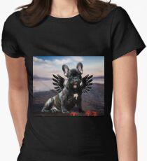 Französische Bulldogge Seestern Tailliertes T-Shirt für Frauen