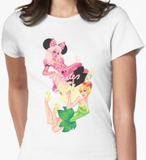 Minnie and Tink Women's Fitted T-Shirt