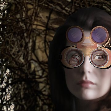 eye as a lens - steampunk variations - beyond the stone tower by watersoluble