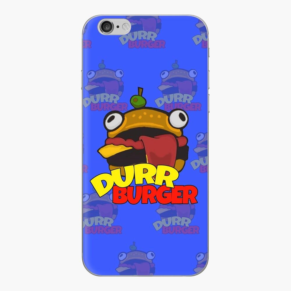 Durr Burger Telefonkasten iPhone Klebefolie