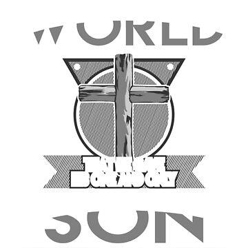 John 3:16: Bible Quote Christian t-shirt  by teesogram