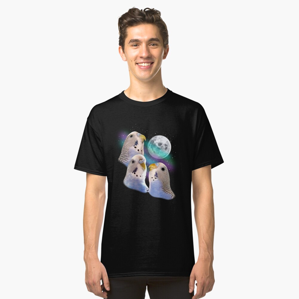 Three Keet Moon Classic T-Shirt Front