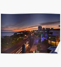 New Plymouth Sunrise Poster
