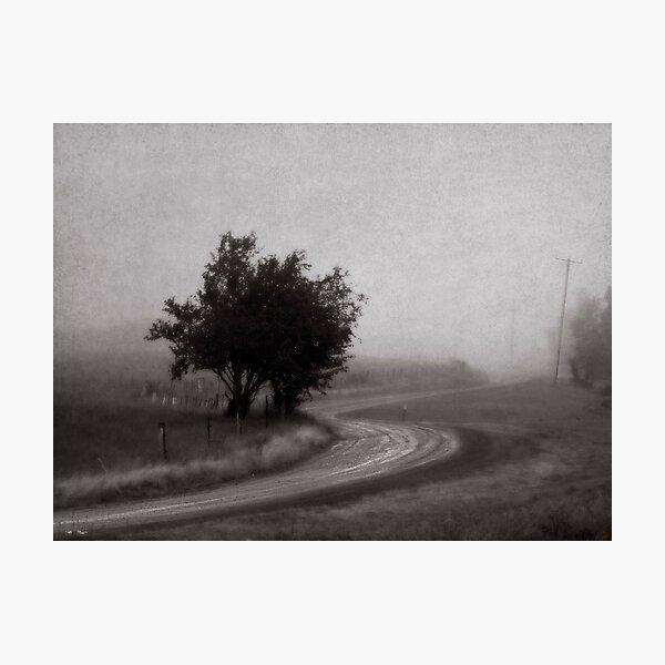 Lost Road Photographic Print