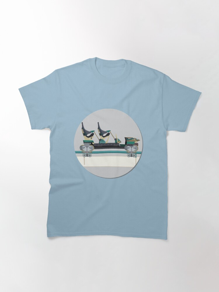 Alternate view of Shambhala Coaster Tshirt - Shambala PortAdventura Classic T-Shirt