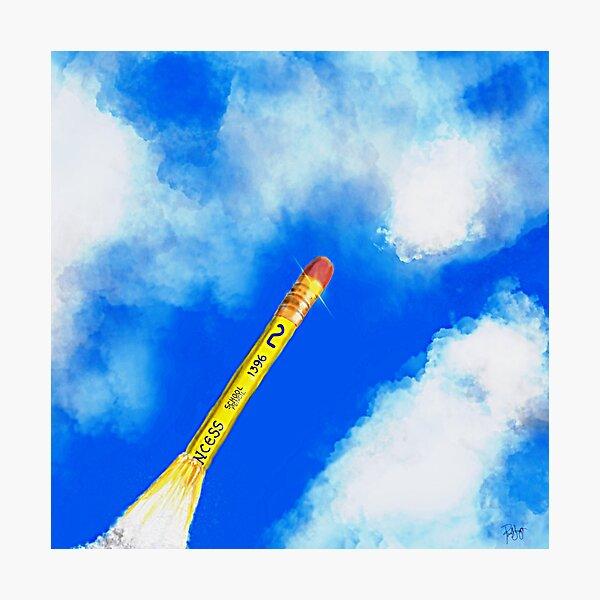 Pencil Missle No. 2 Photographic Print