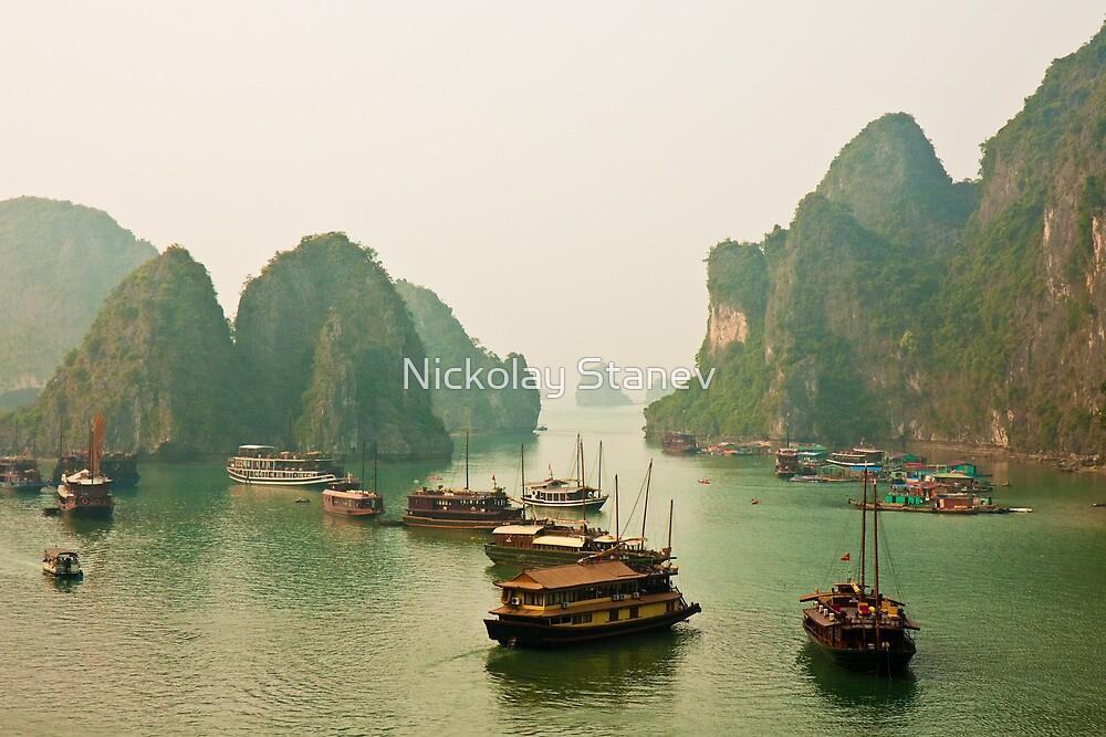 Ha Long Bay by Nickolay Stanev