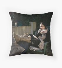 Baby It's Cold Outside Throw Pillow
