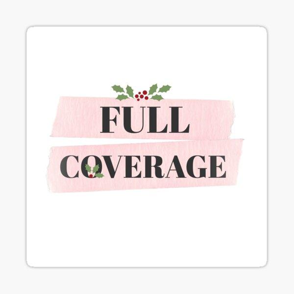 Full Coverage Holiday Logo Sticker