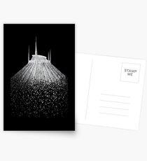 Blast to Space Mountain Postcards