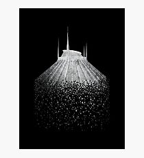 Blast to Space Mountain Photographic Print