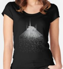 Blast to Space Mountain Women's Fitted Scoop T-Shirt