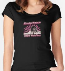 Randy 1988 WorldTour Women's Fitted Scoop T-Shirt