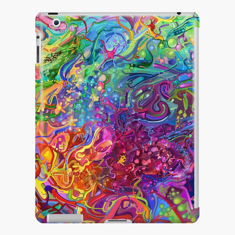 This Page Intentionally Left Blank - Digital Art & Painting iPad Case & Skin