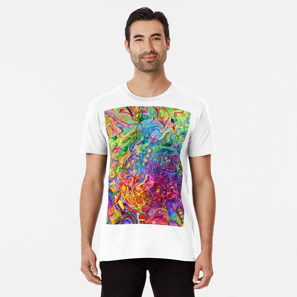 This Page Intentionally Left Blank - Digital Art & Painting Premium T-Shirt
