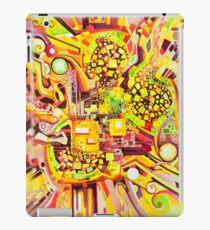 Verzerrungs-Sympathie - Aquarell iPad-Hülle & Klebefolie