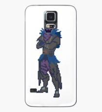 Funda/vinilo para Samsung Galaxy 8 Bit Raven