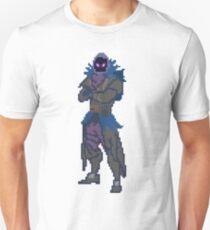 Camiseta unisex 8 Bit Raven