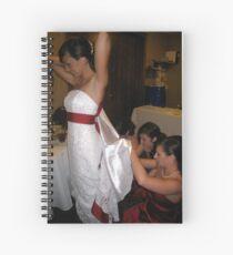 Cuaderno de espiral Bussling Bridesmaids