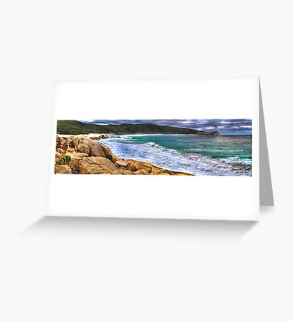Salmon Holes Panorama Greeting Card