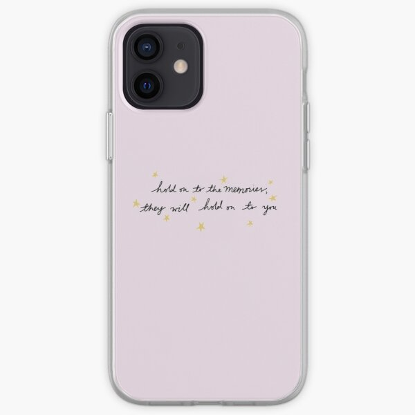hold on to the memories - taylor swift iPhone Soft Case