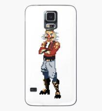 Funda/vinilo para Samsung Galaxy Pixel Art Crackshot