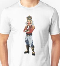 Camiseta unisex Pixel Art Crackshot