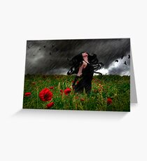 Storm Witch Greeting Card