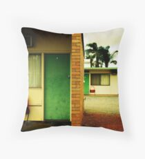 Motel Moribundity Throw Pillow