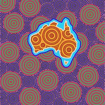 Australia Continent by denip