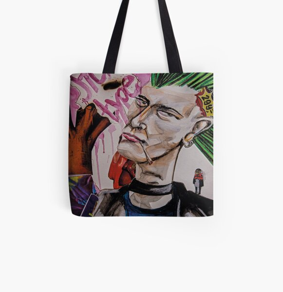 Stereotype Allover-Print Tote Bag