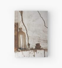 A work in Rust Hardcover Journal