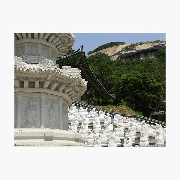 Bumunsa Temple, South Korea Photographic Print
