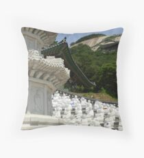 Bumunsa Temple, South Korea Throw Pillow