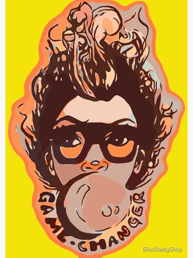 Bubble Gum Pretty Girl Afro Hair Mohawk  by EllenDaisyShop