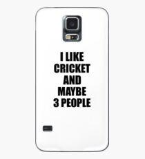 CRICKET Lover Funny Gift Idea I Like Hobby Case/Skin for Samsung Galaxy