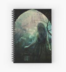 Morgan le Fay Spiral Notebook