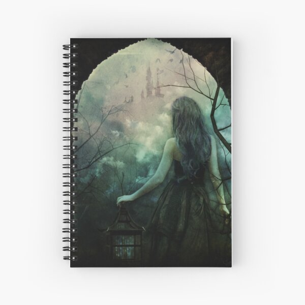 Morgan le Fay Spiral Notebook